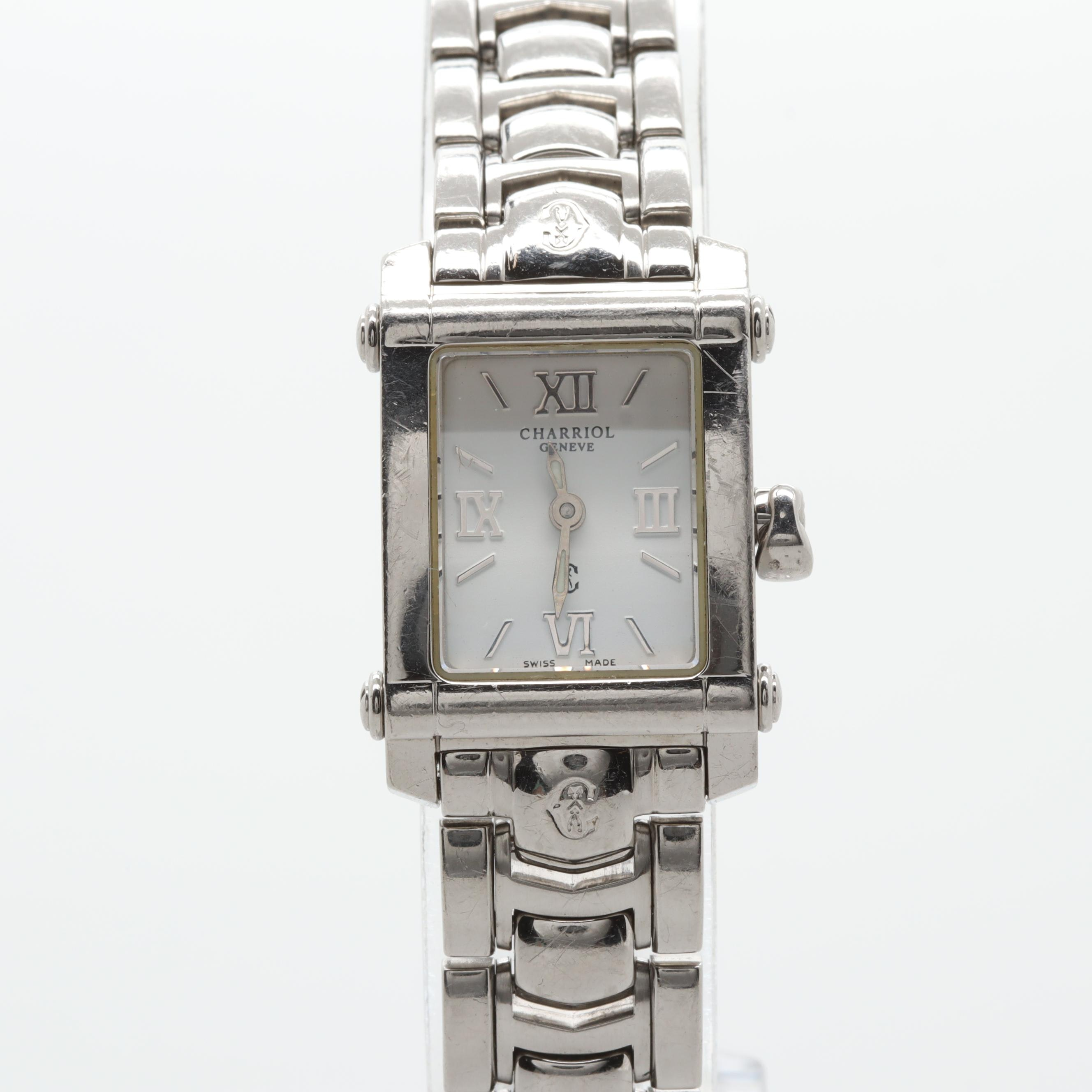 "Charriol ""Geneve"" Swiss Made Stainless Steel Wristwatch"