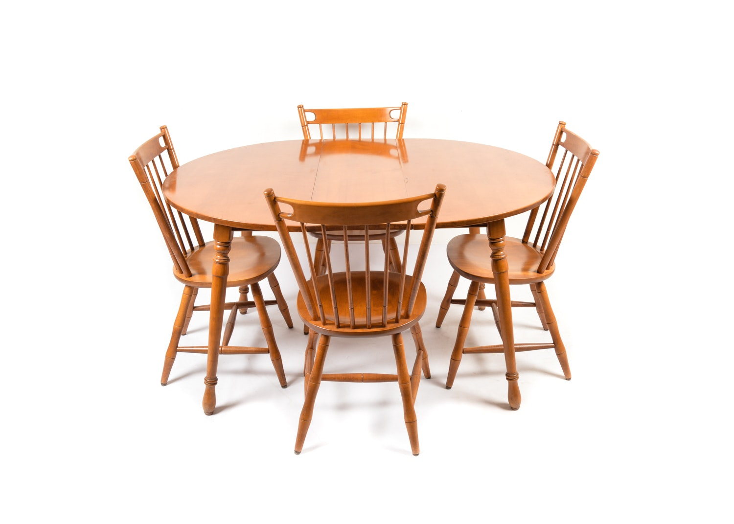 Vintage Dining Set by Tell City Chair Company