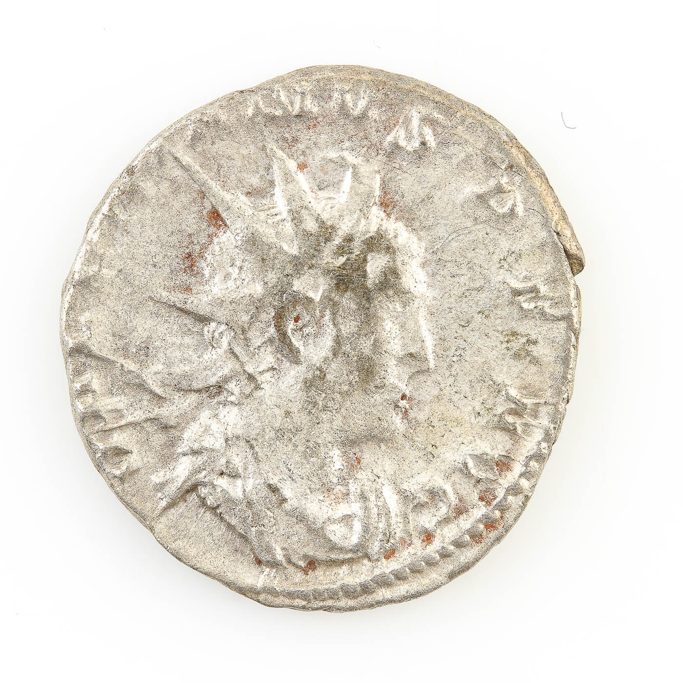 Ancient Roman Imperial AR Antoninianus of Gallienus, ca. 260 A.D.