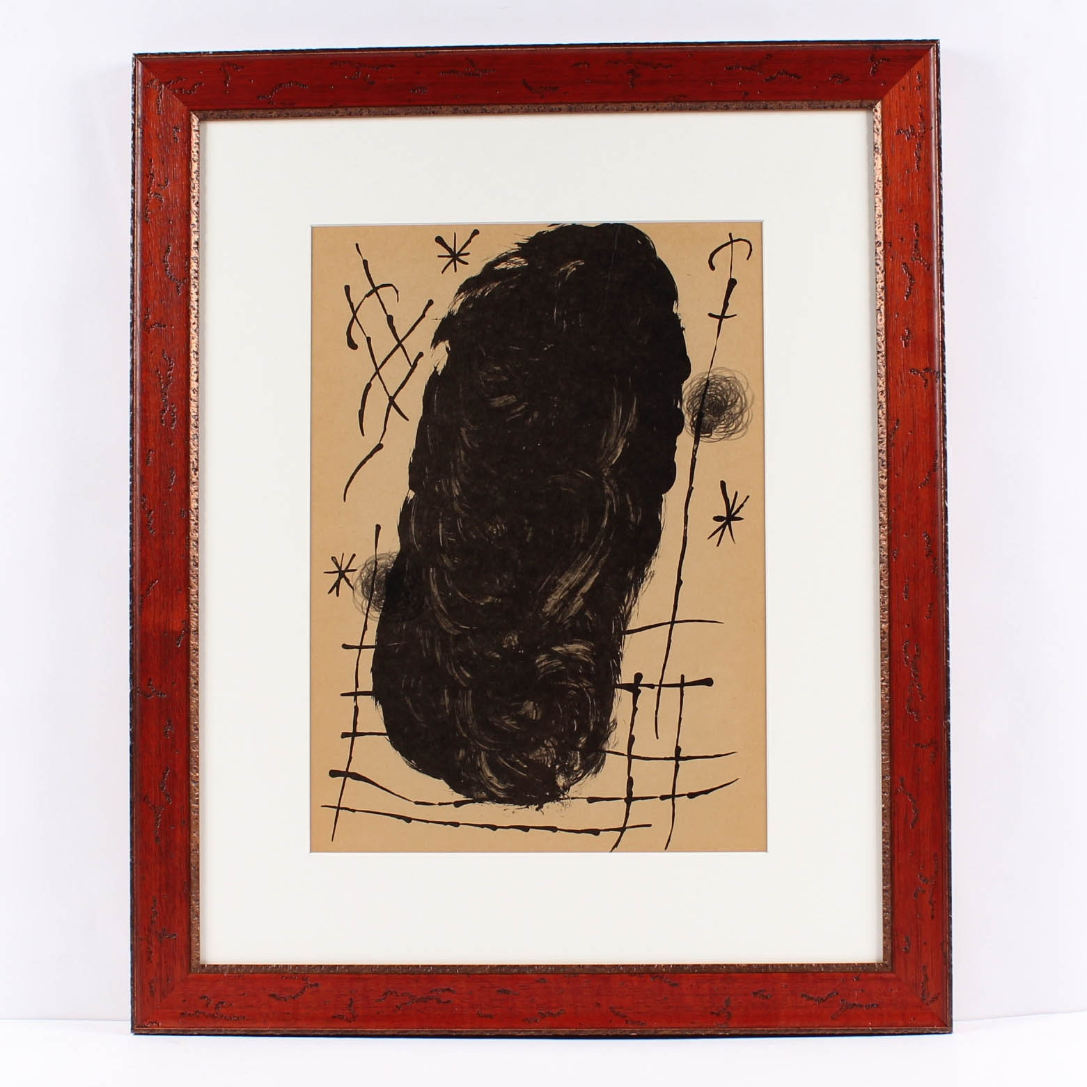 "Joan Miró Lithograph for 1965 ""Derrière le Miroir, No. 151-152"""