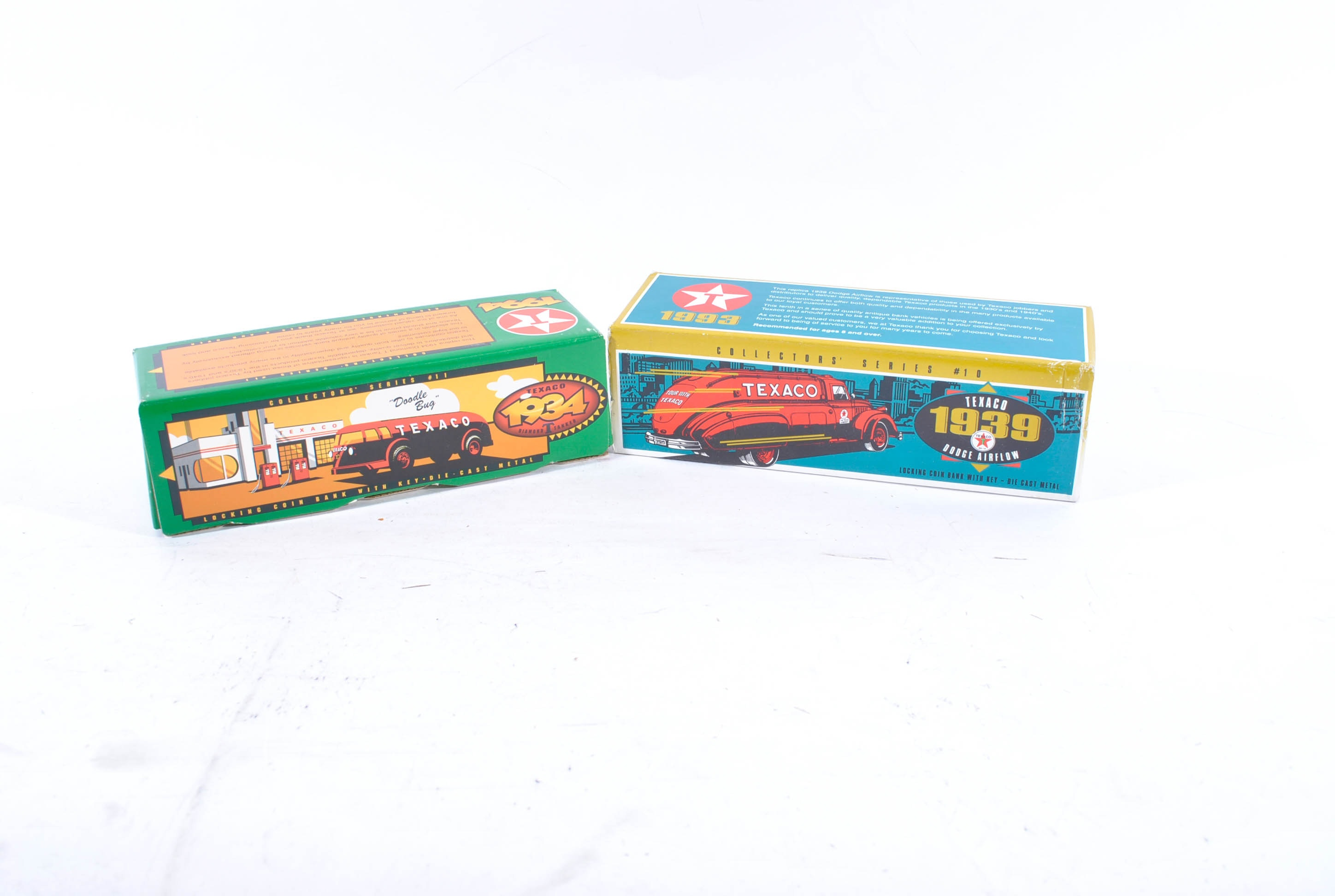 Ertl Die-Cast Texaco Tanker Coin Banks