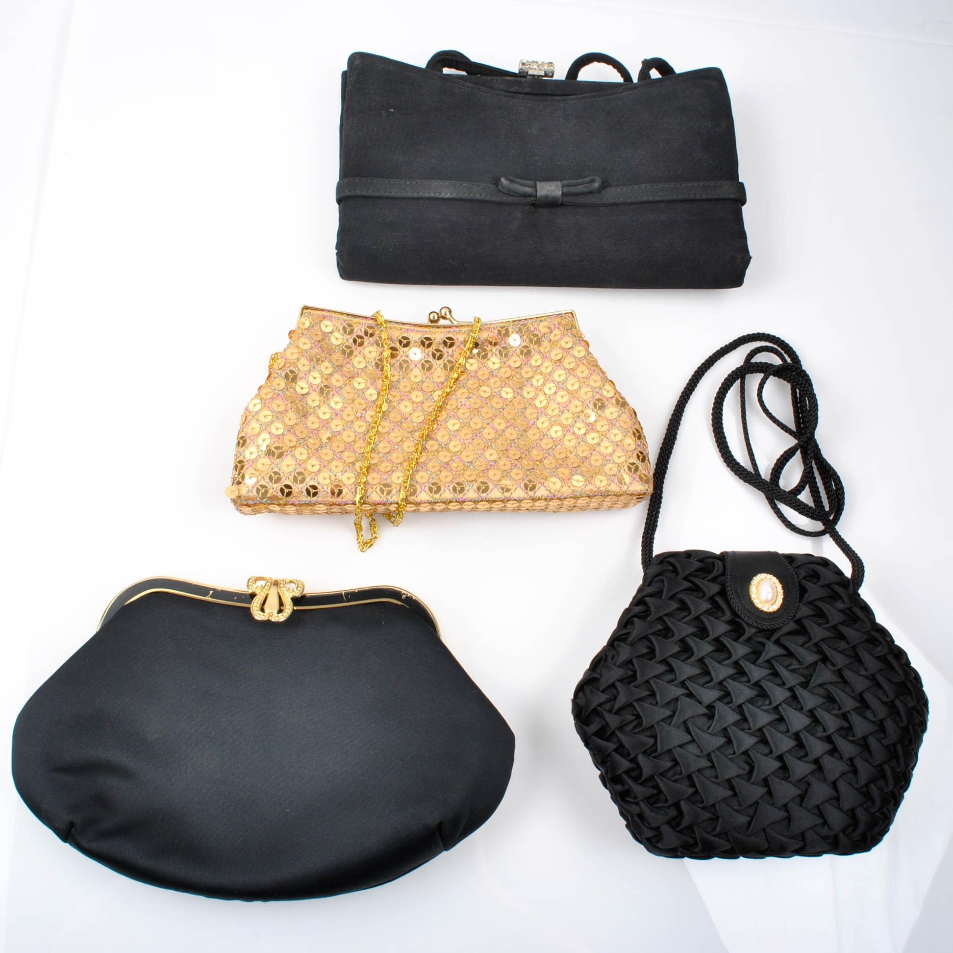 Vintage Evening Bags Including Jessica McClintock