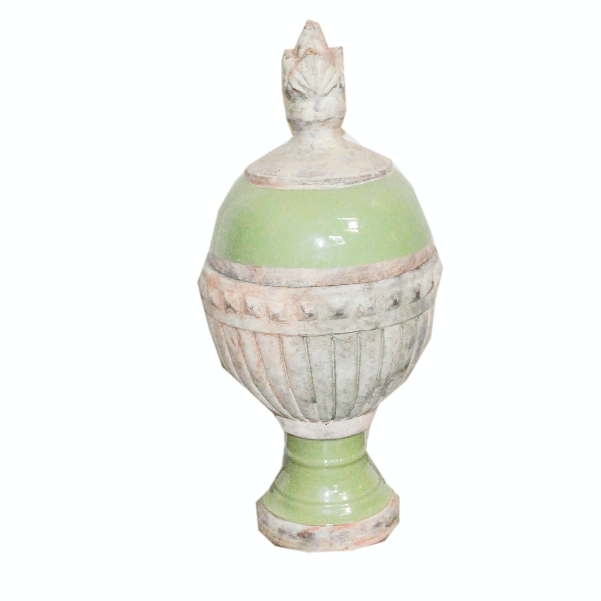 Decorative Ceramic Lidded Urn