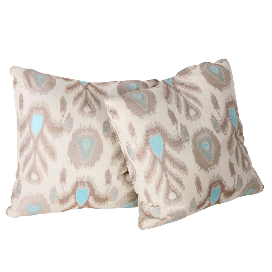 Contemporary Throw Pillows With Removable Covers Ebth