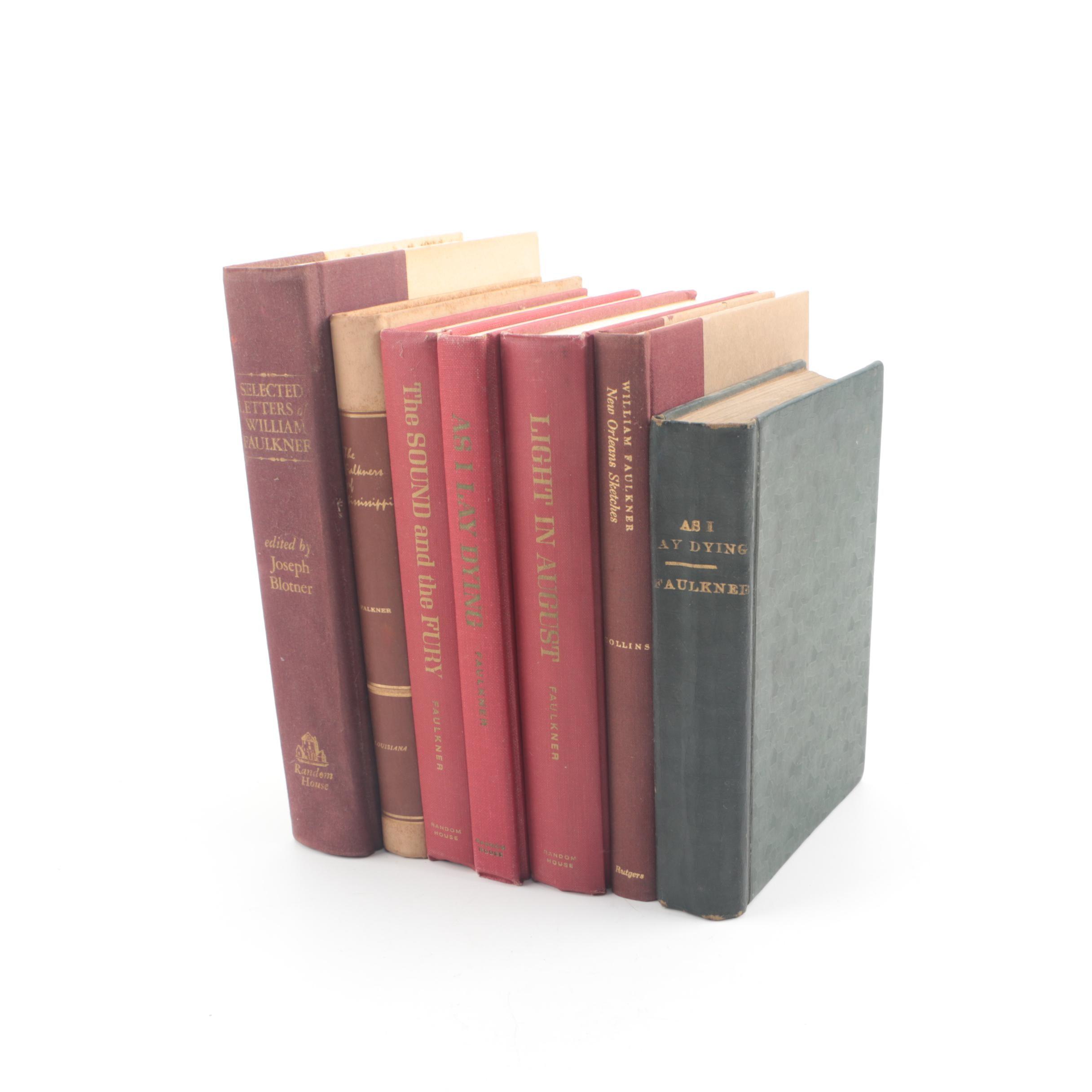 William Faulkner Books