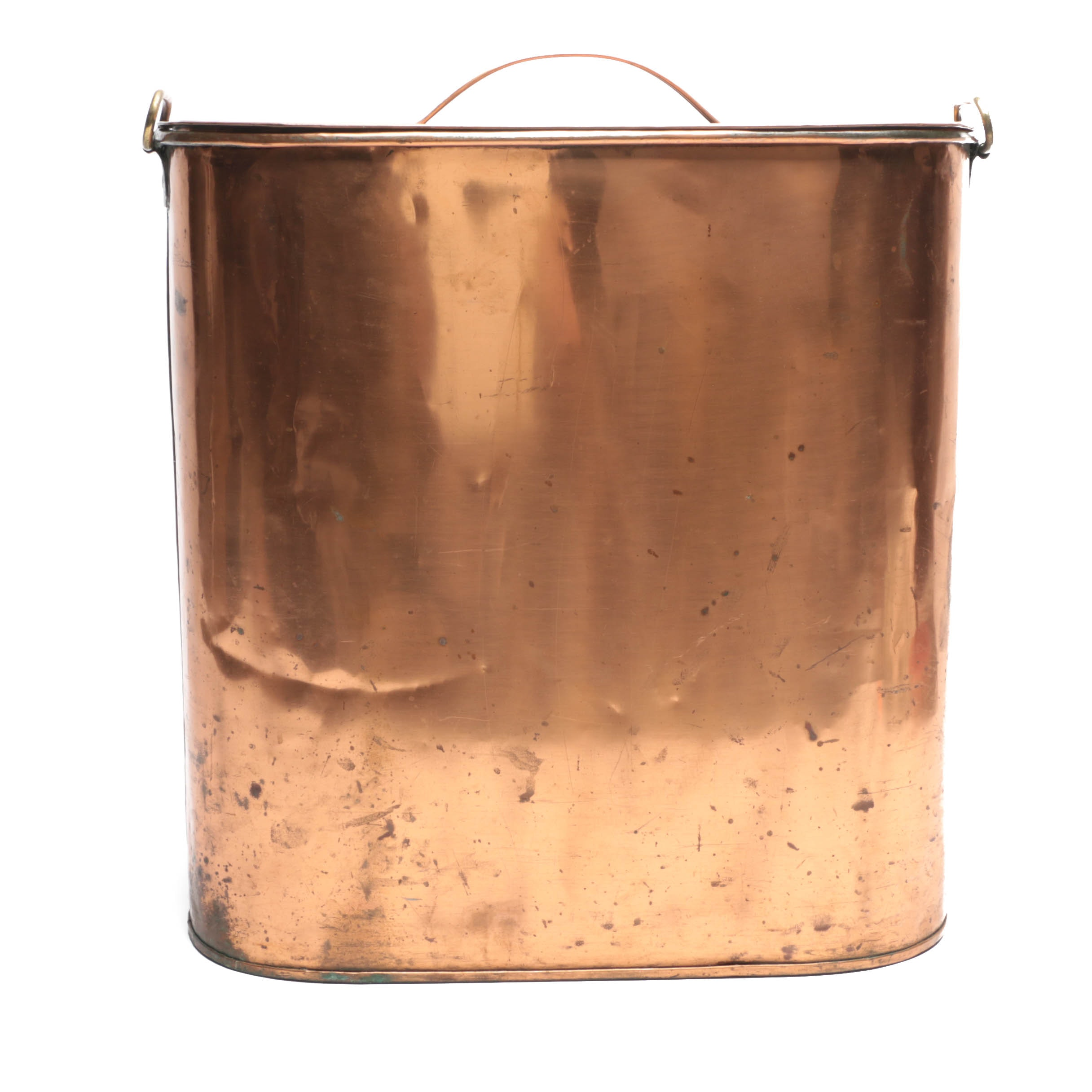 Zinc and Copper Finish Canister