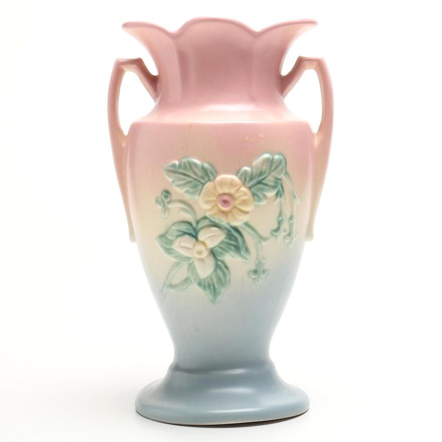 Hull Pottery Wild Flower Vase Ebth