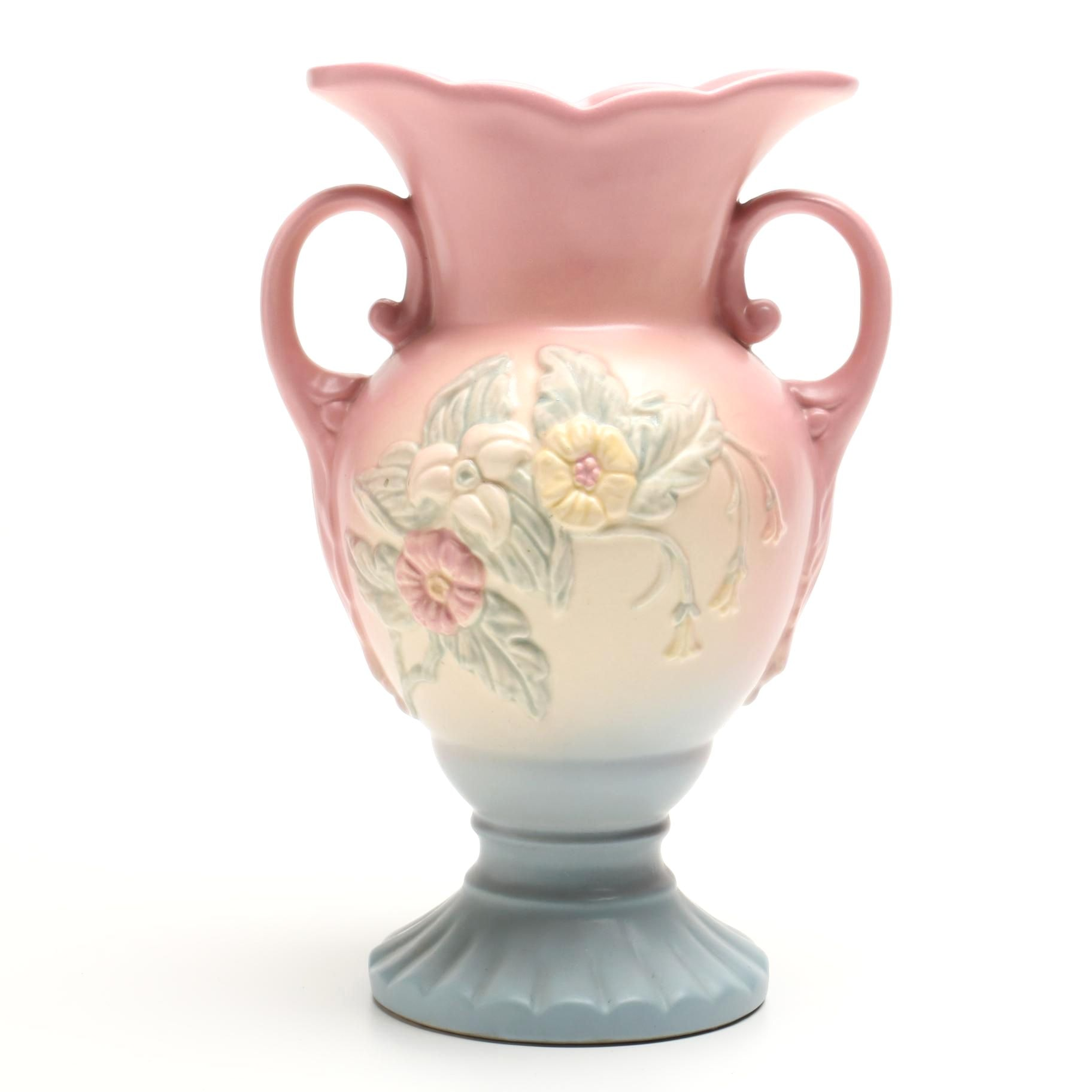 "Hull Pottery ""Wildflower"" Pink Vase"