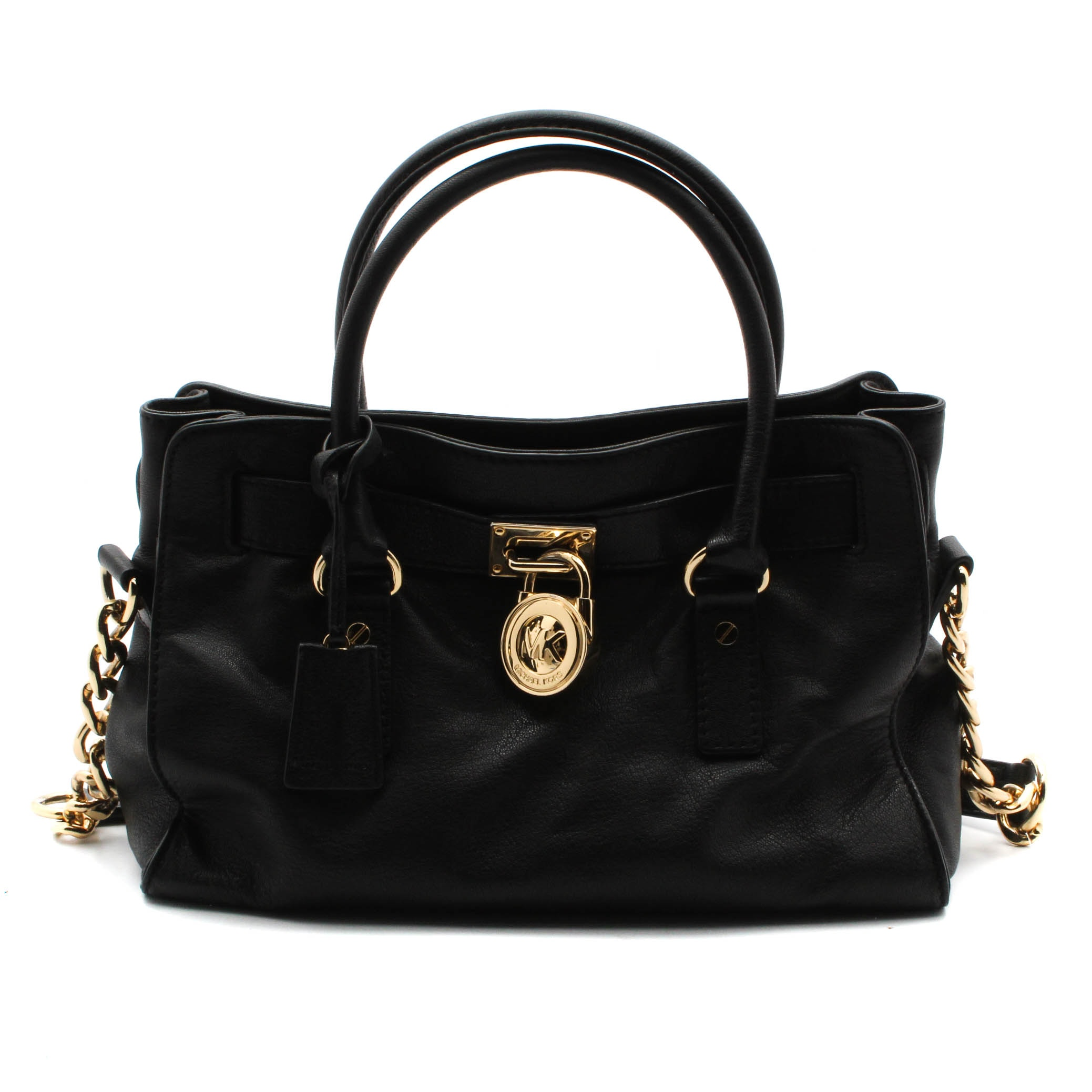 MICHAEL by Michael Kors Black Leather Handbag