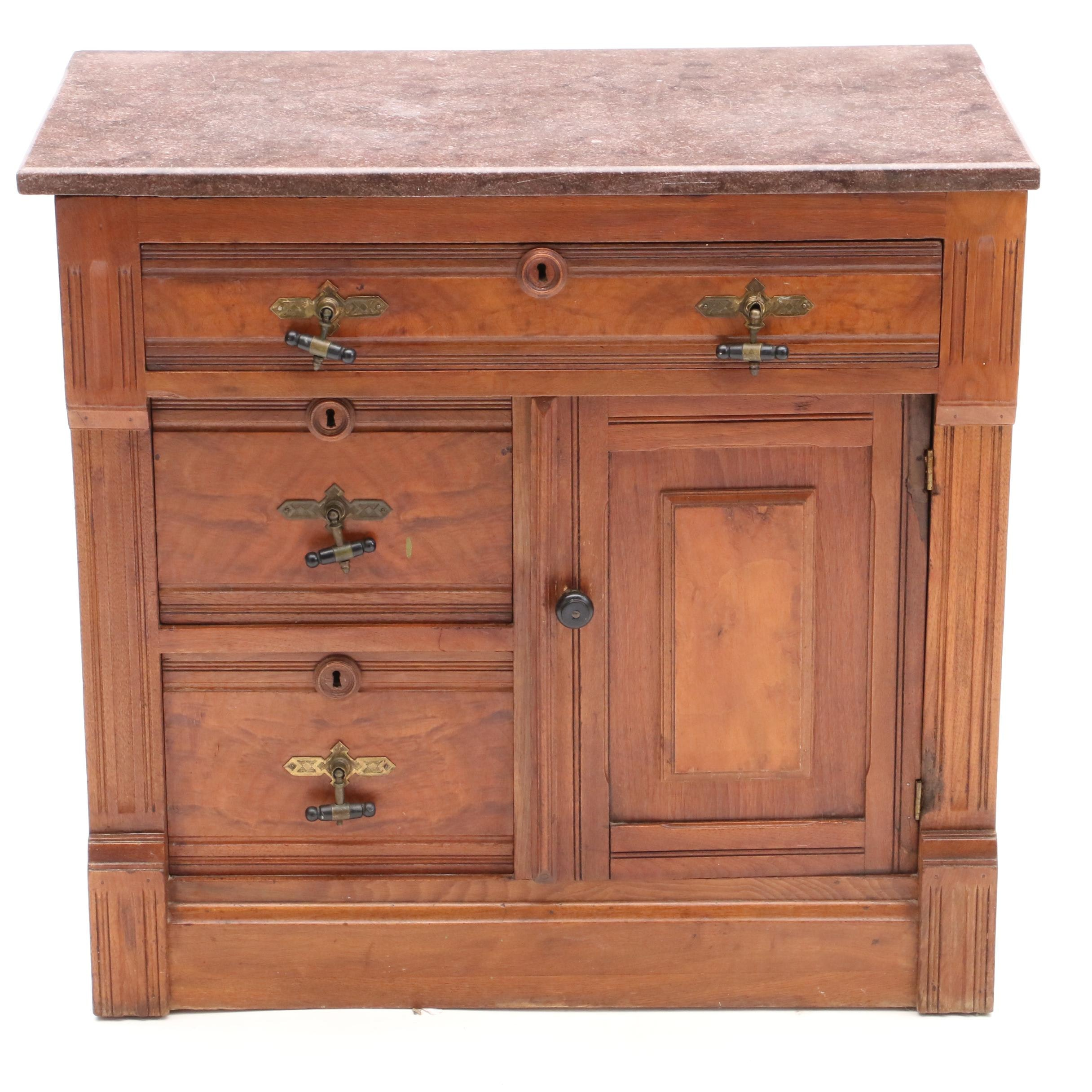 Late Victorian Wash Stand