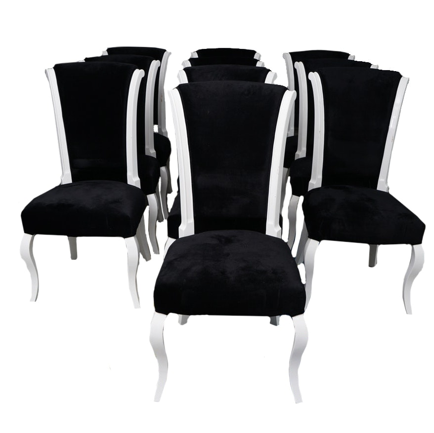 Set of Deco Revival Dining Chairs