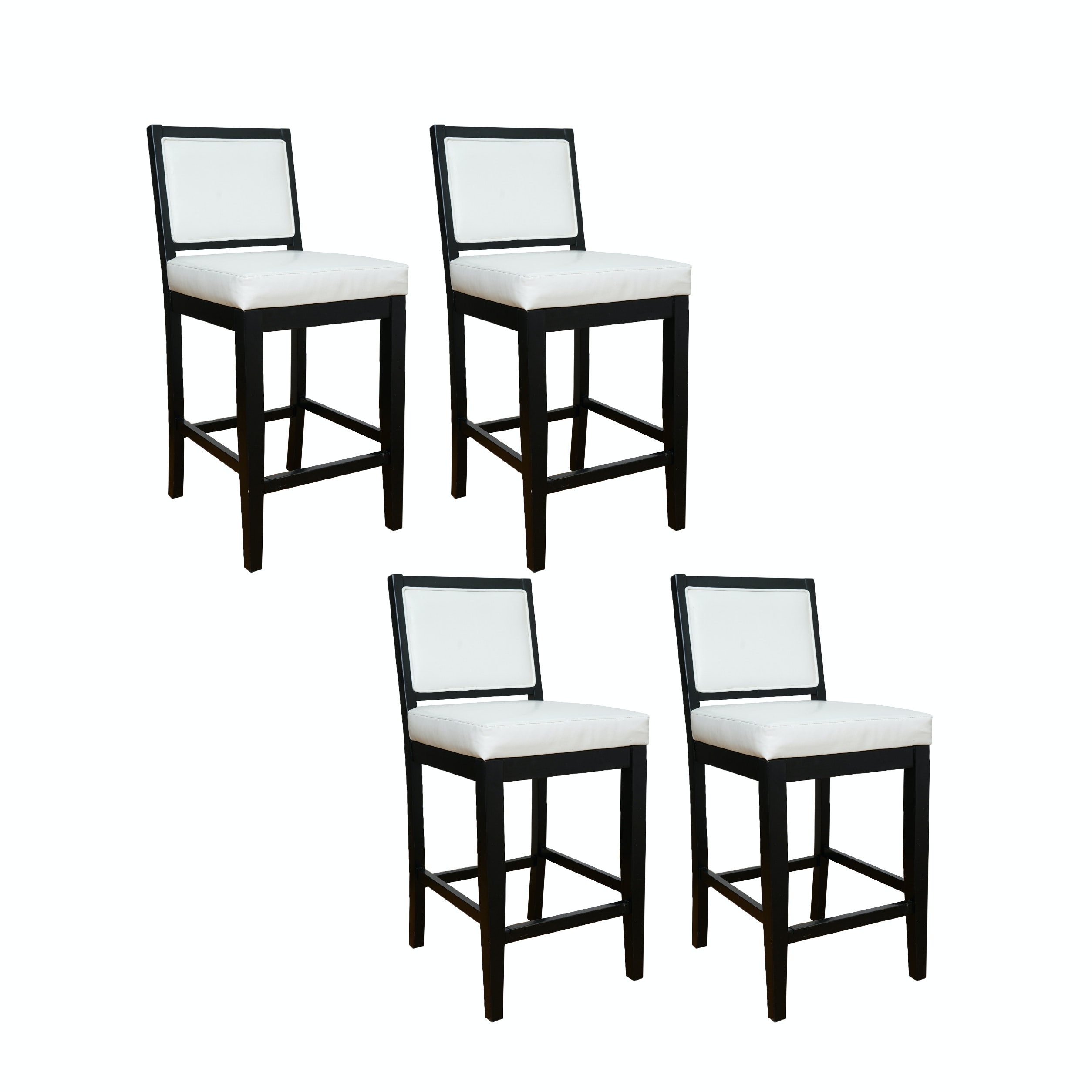 "Set of Four ""Fairmount"" Bar Stools for American Heritage Billiards"