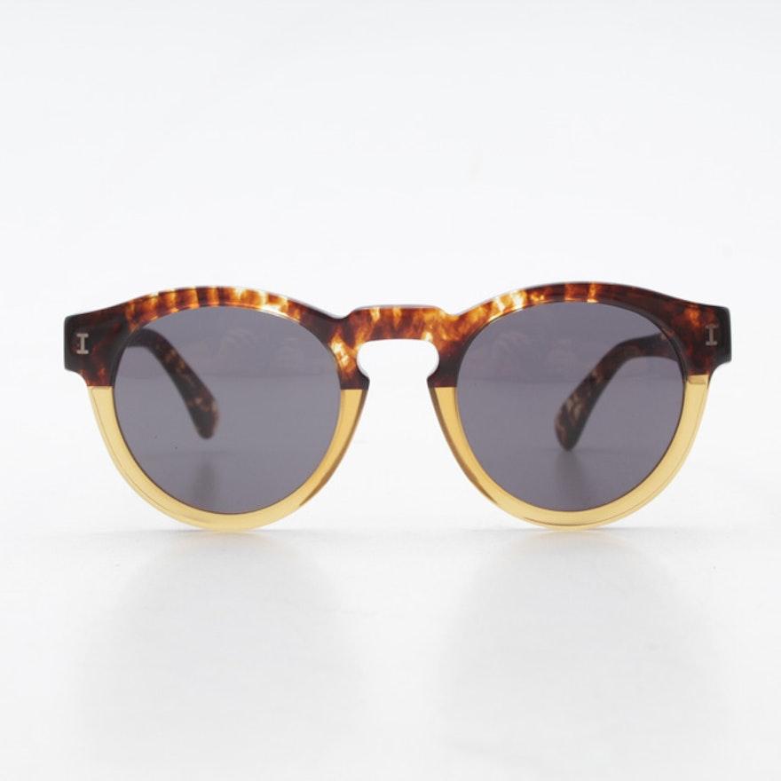 1739bed457 Illesteva Leonard Tortoise Shell-Style Sunglasses   EBTH