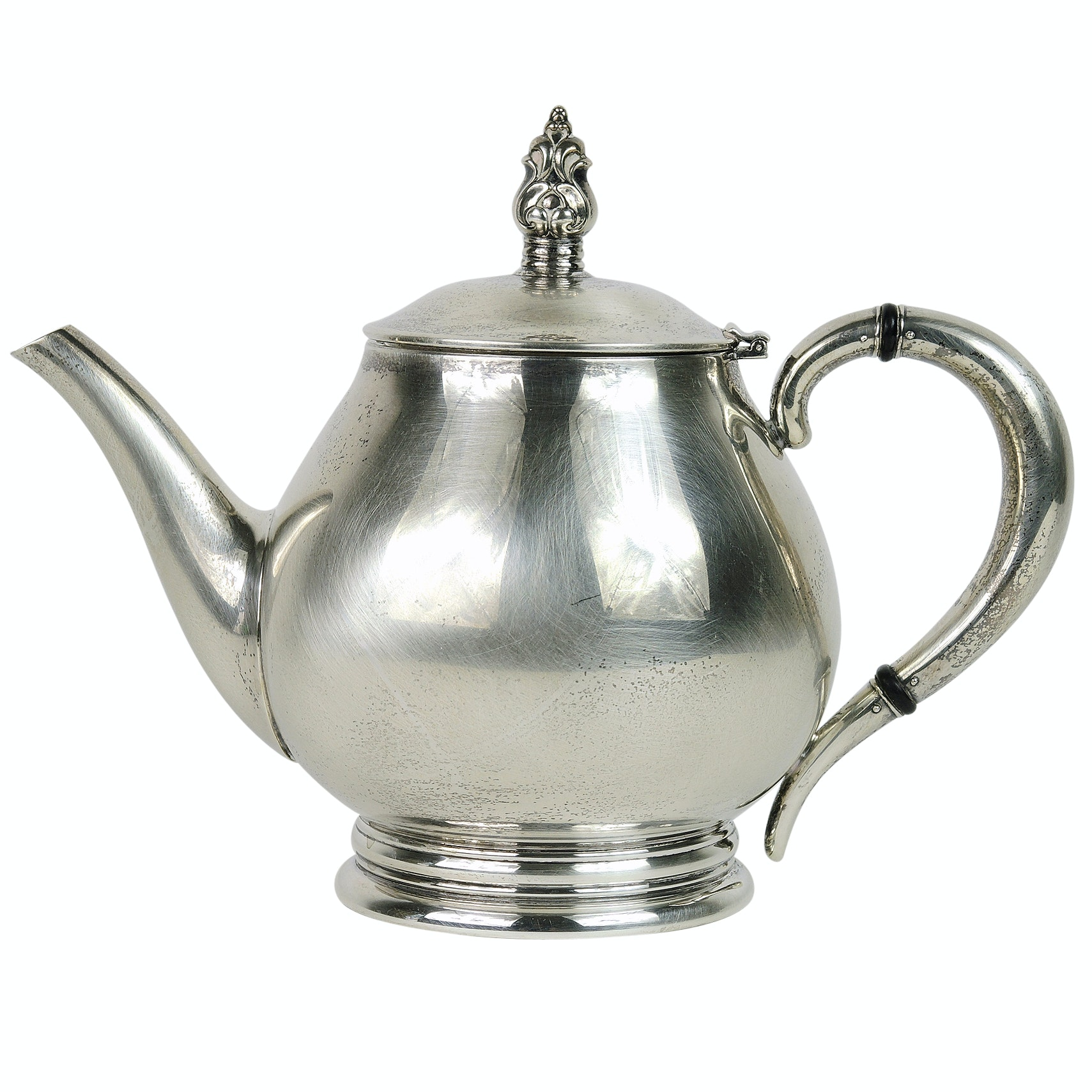 "International Silver Co. ""Royal Danish"" Sterling Silver Tea Pot"