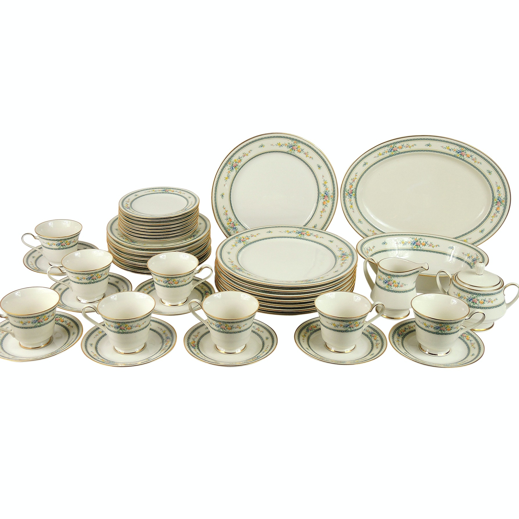 "Noritake Ivory China ""Amenity"" Dinnerware"