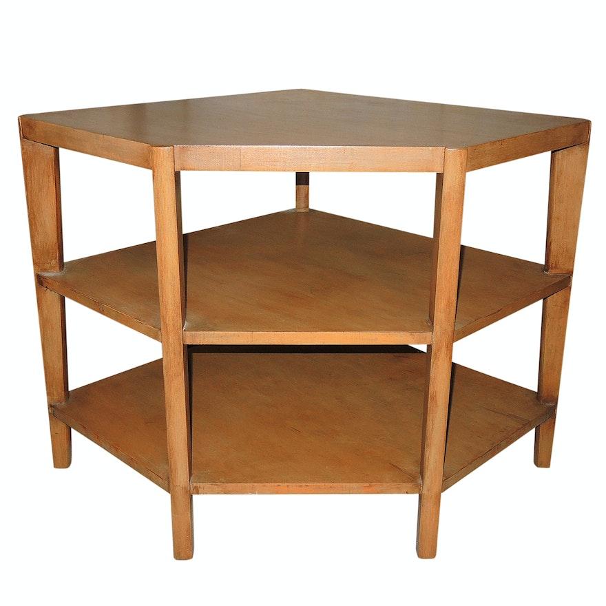 Mid Century Modern Corner Table EBTH - Mid century modern corner table