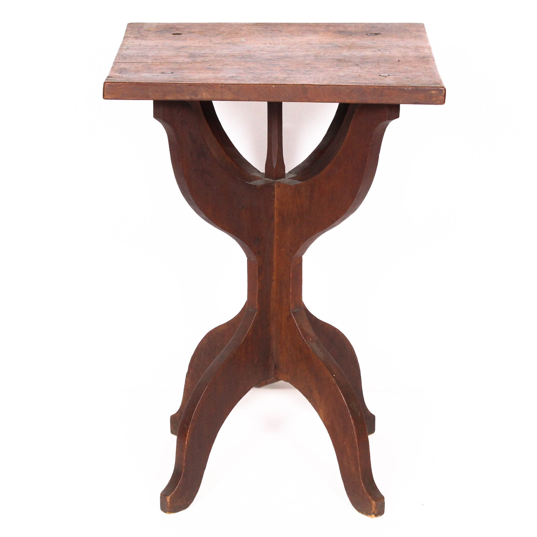 Rustic Hand-Crafted Wooden Table