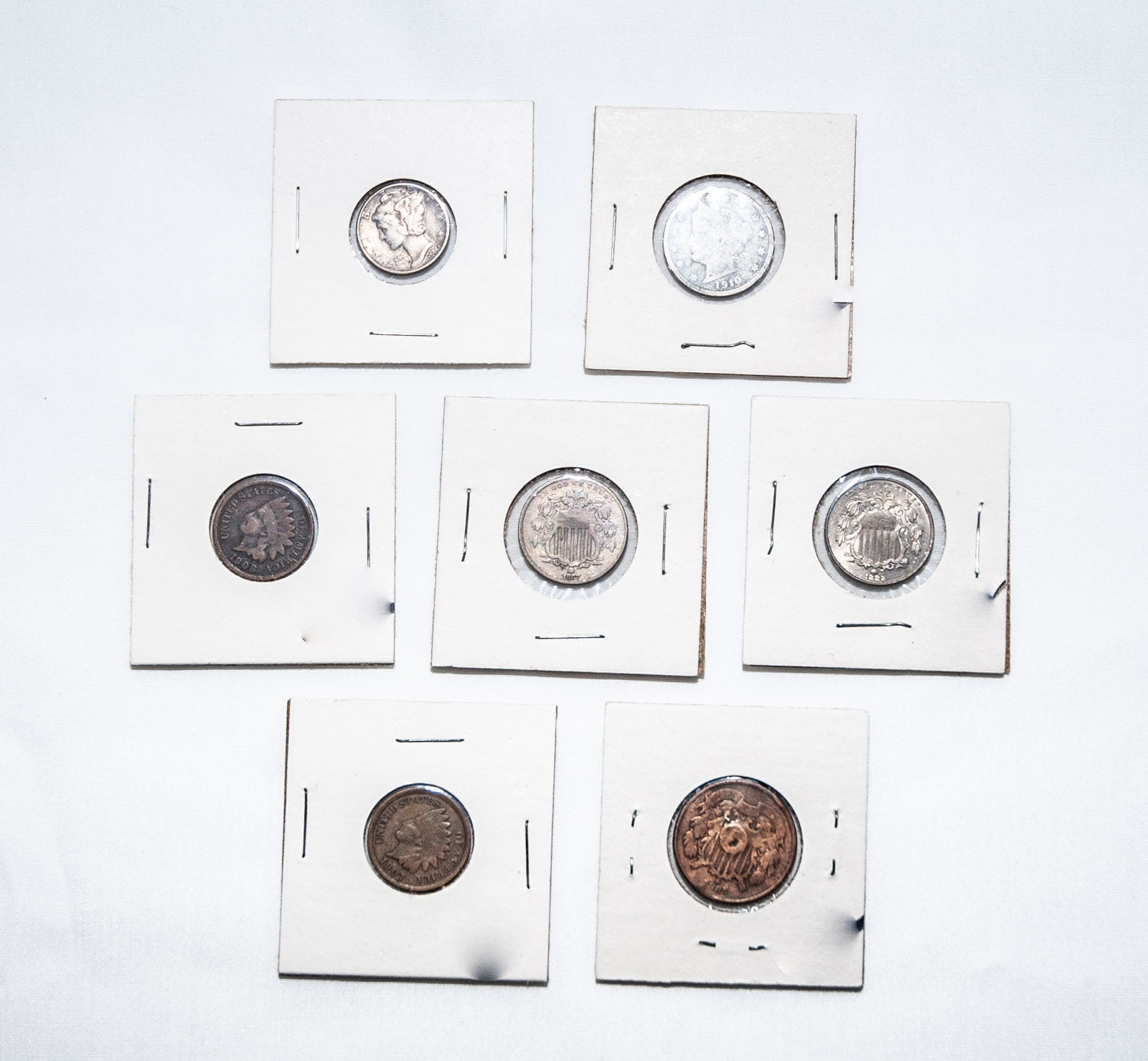 Various U.S. Antique and Vintage Coins