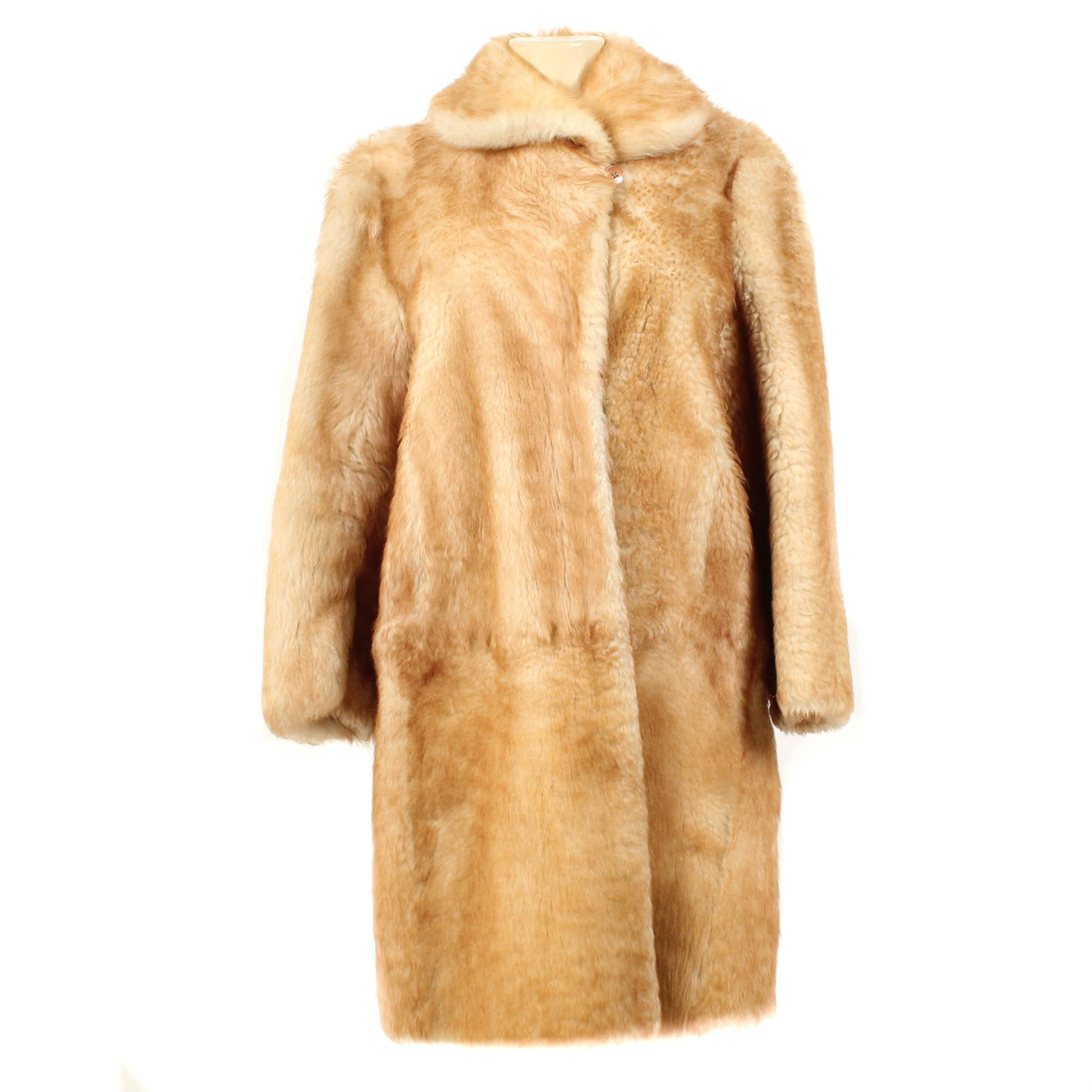 Vintage Lamb Shearling Coat