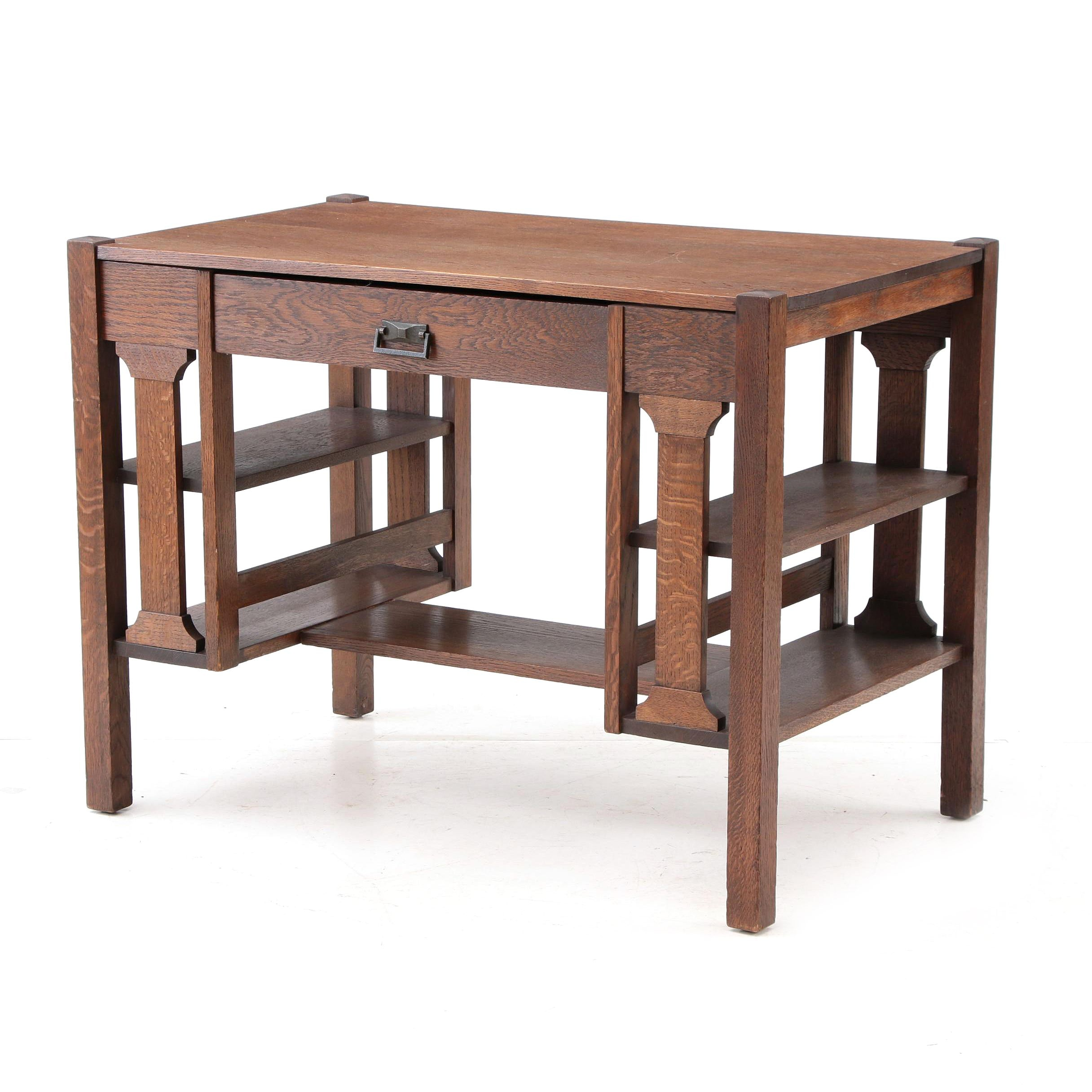 An Early 20th Century Mission Style Desk