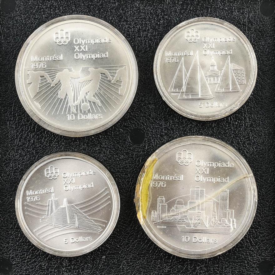 1976 olympics commemorative coins