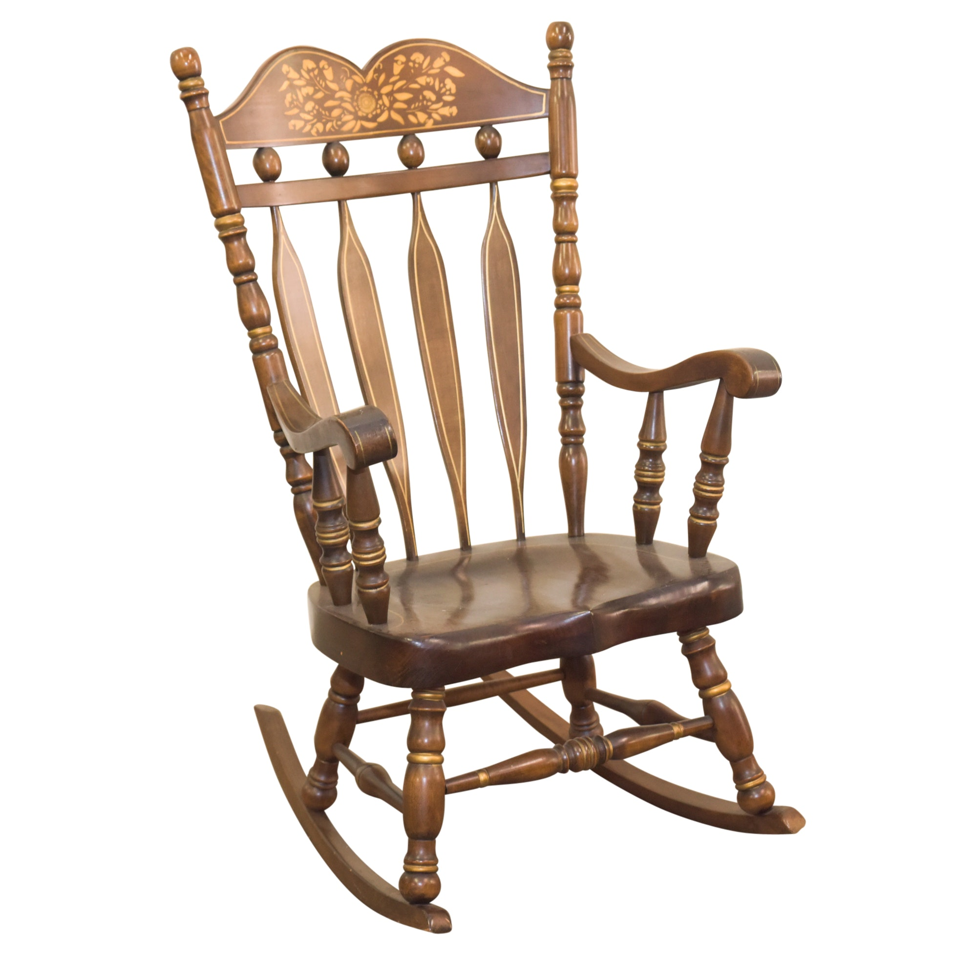 Stenciled Rocking Chair by Virginia House