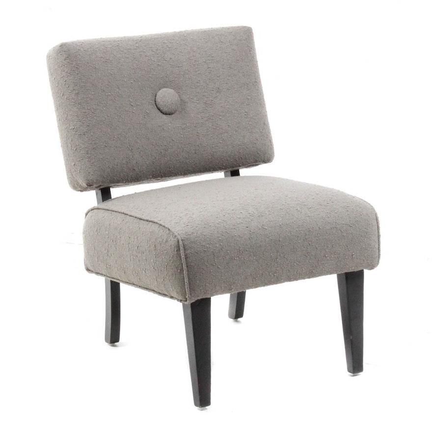 Mid Century Modern Slipper Chair