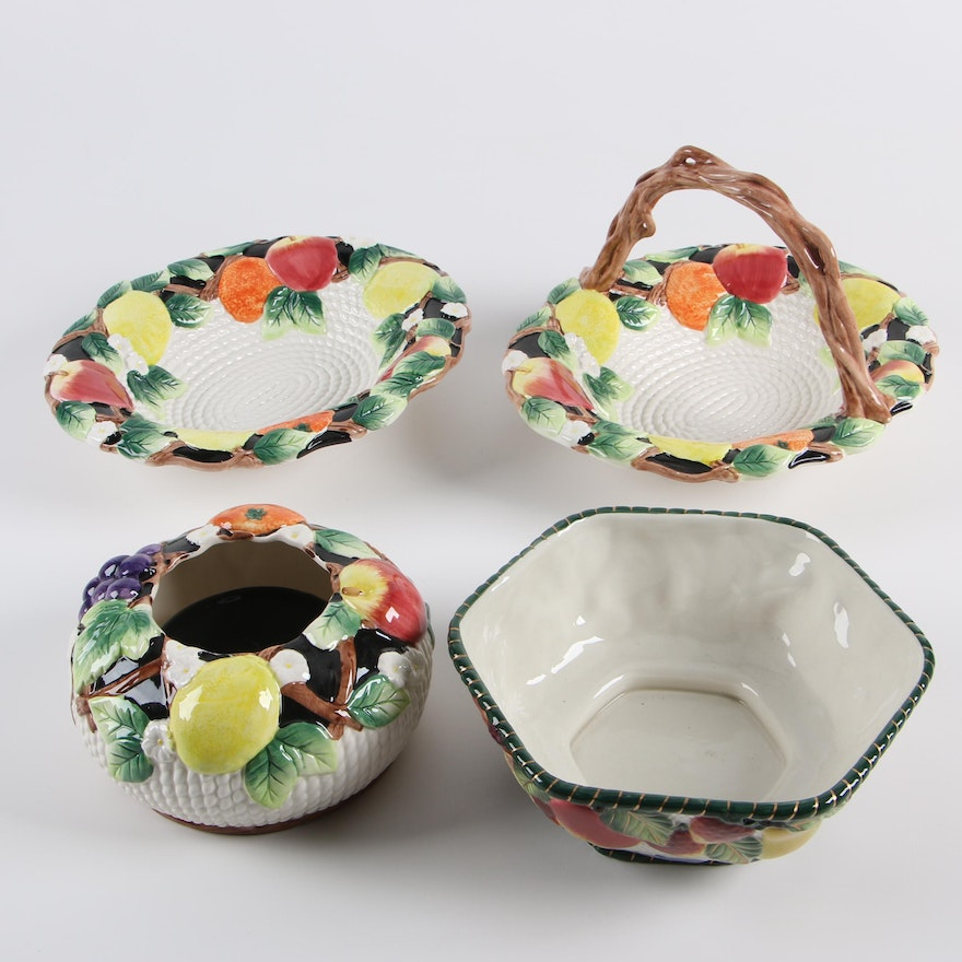 Fitz And Floyd Quot Fruit Al Fresco Quot Serveware And Potpourri
