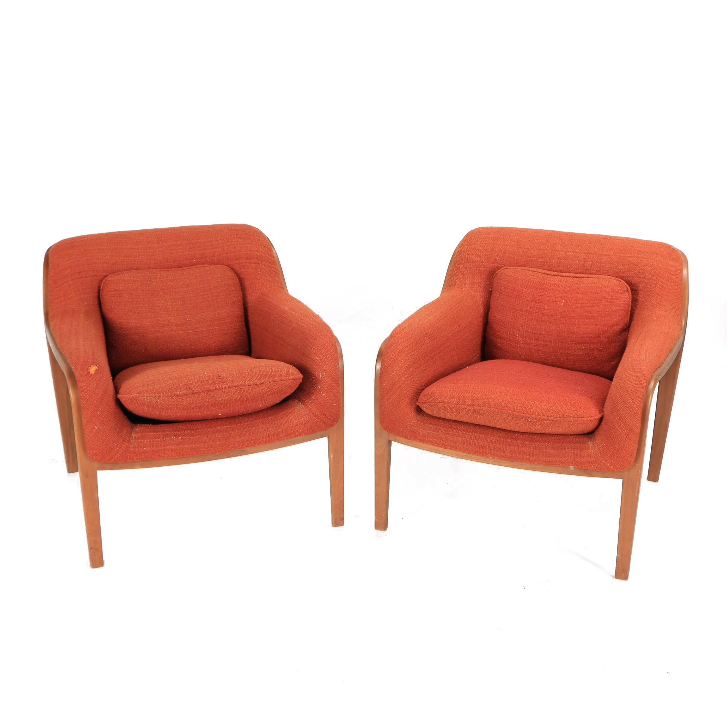 "Knoll ""Stephens Chair"" Lounge Chair Pair"