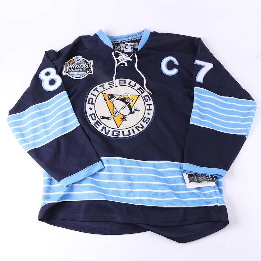 best loved eab43 a3456 Sidney Crosby Replica Pittsburgh Penguins Jersey : EBTH