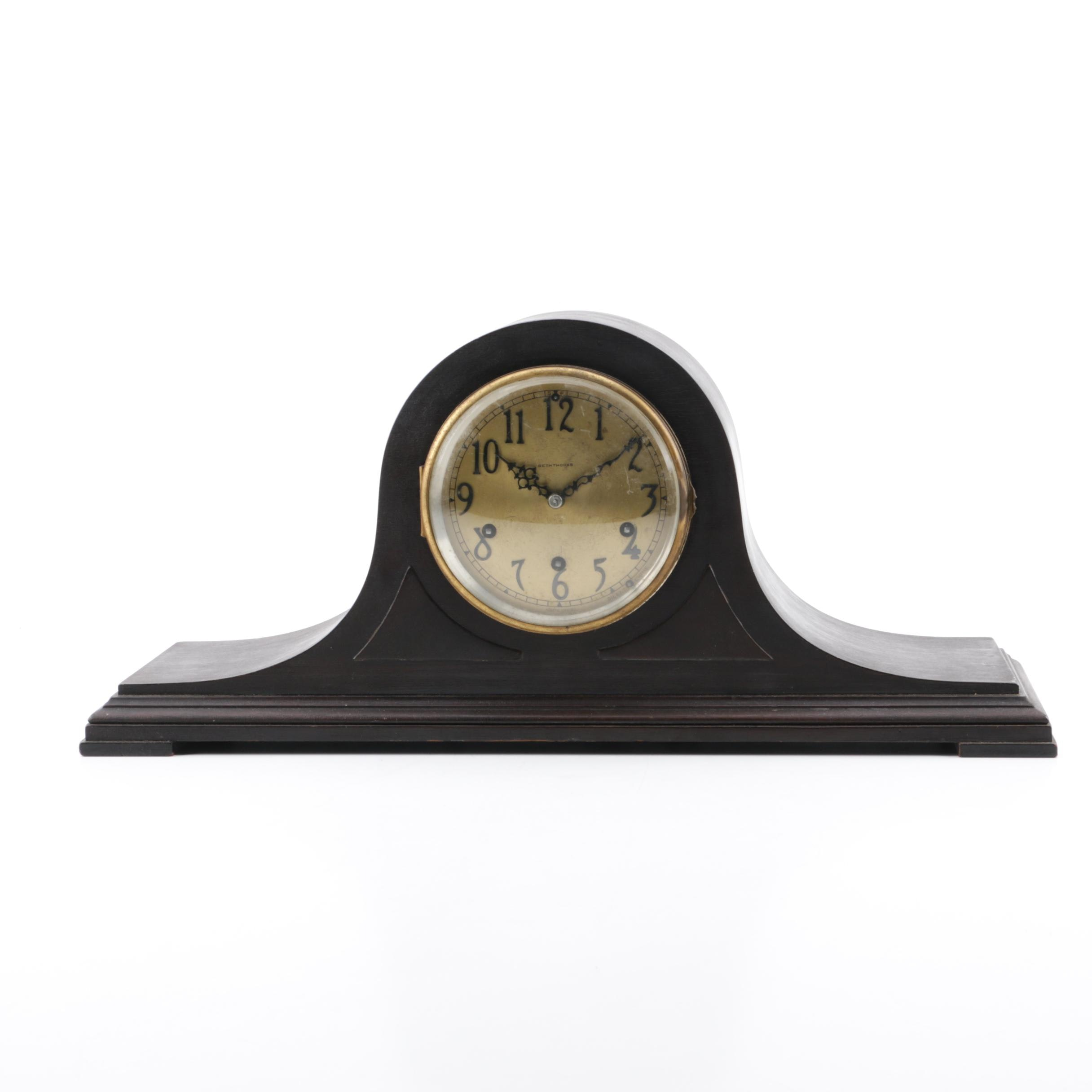 Seth Thomas Westminister Chime Tambour Mantel Clock