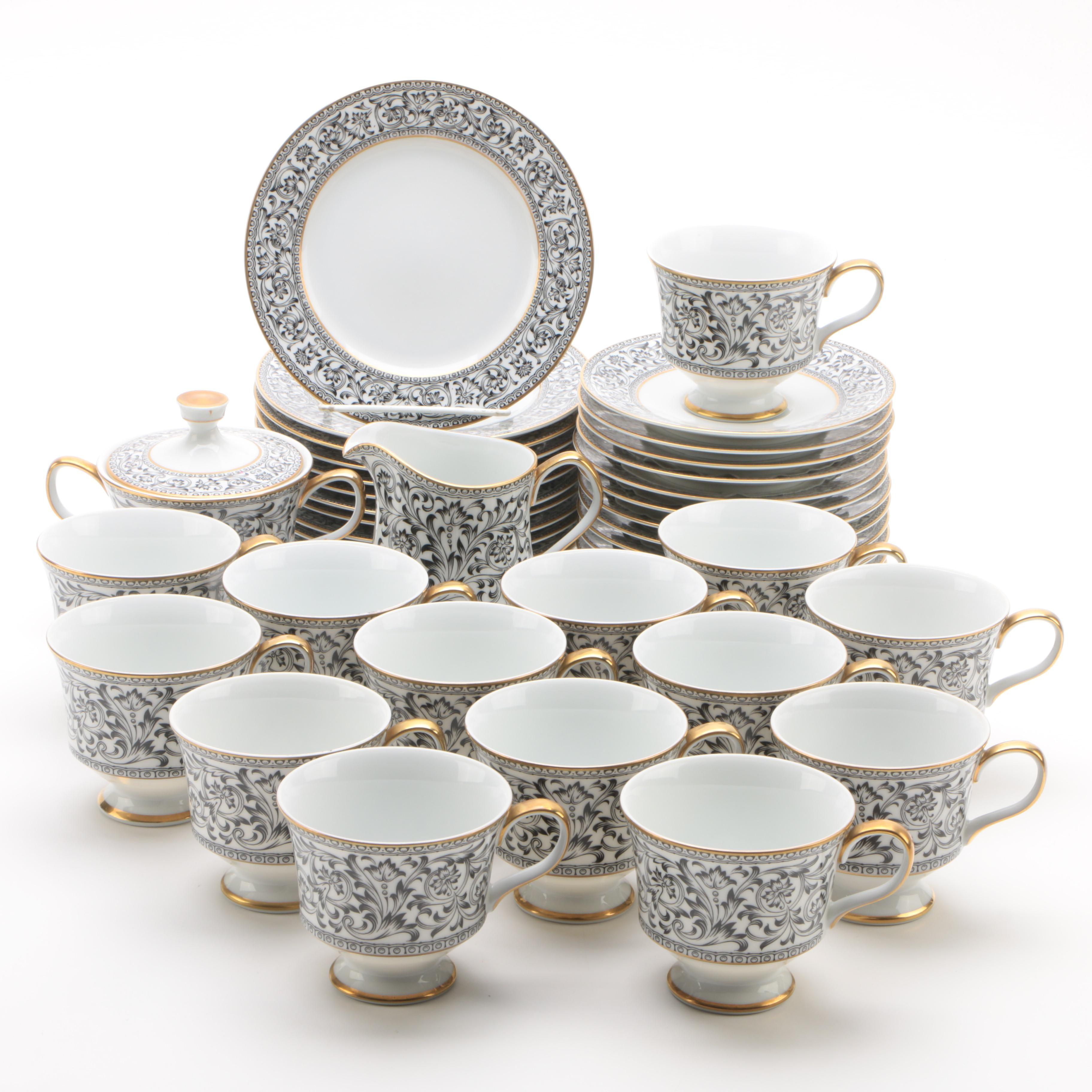 "Contemporary Sango ""Spanish Lace"" Porcelain Tableware"