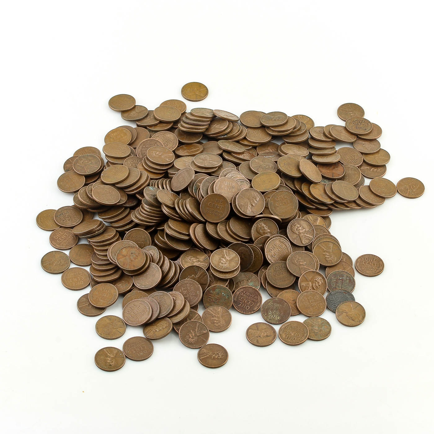 500 Lincoln Wheat Ear Cents