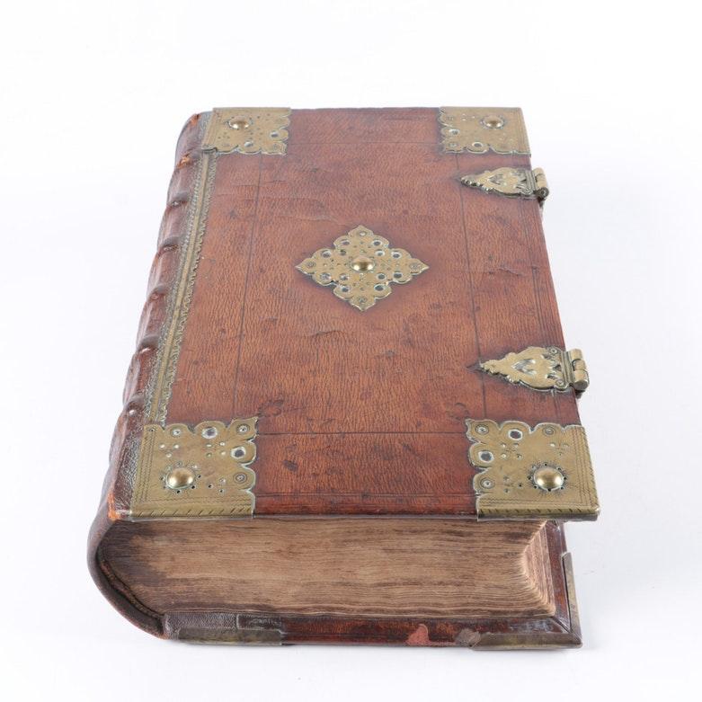 Circa 1639 Early Edition Statenvertaling Dutch Bible