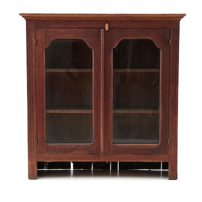 Vintage China Cabinet Top - Vintage And Antique Cabinets Auction In Antiques, Collectibles