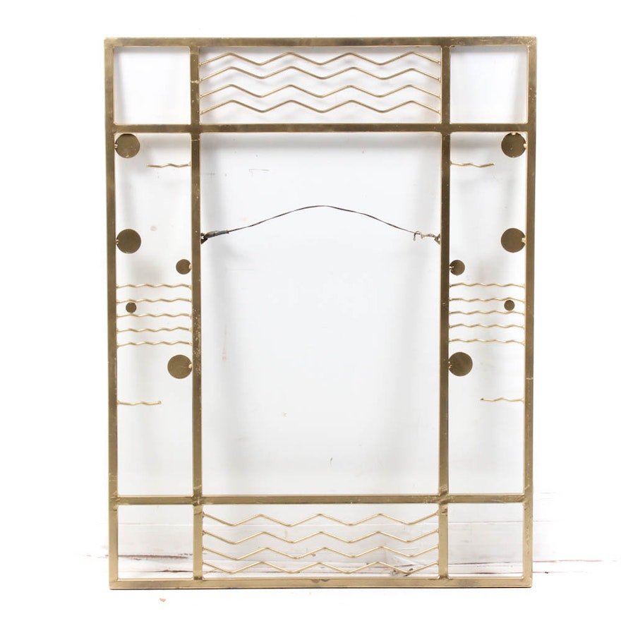 Vintage Art Deco Metal Wall Hanging : EBTH