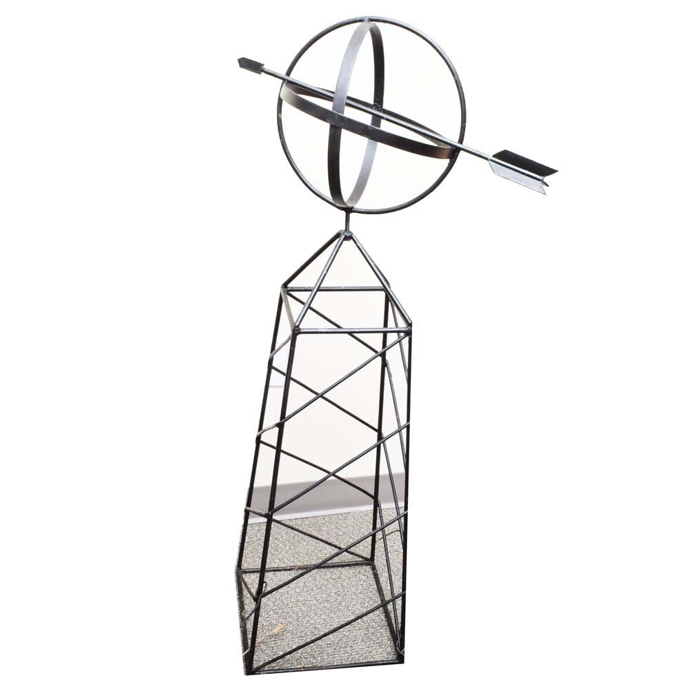 Metal Garden Obelisk ...