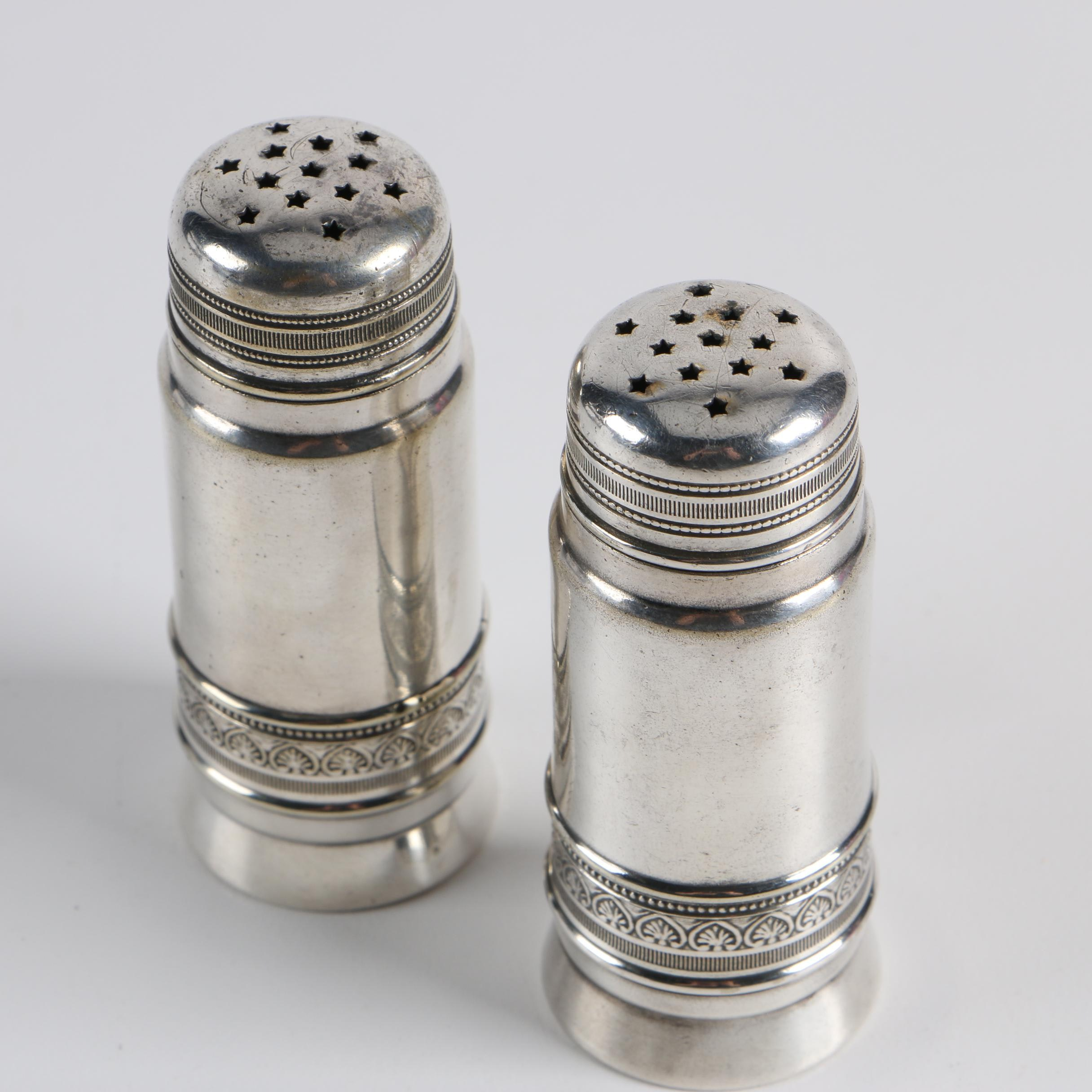 Gorham Silver Plate Salt and Pepper Shakers