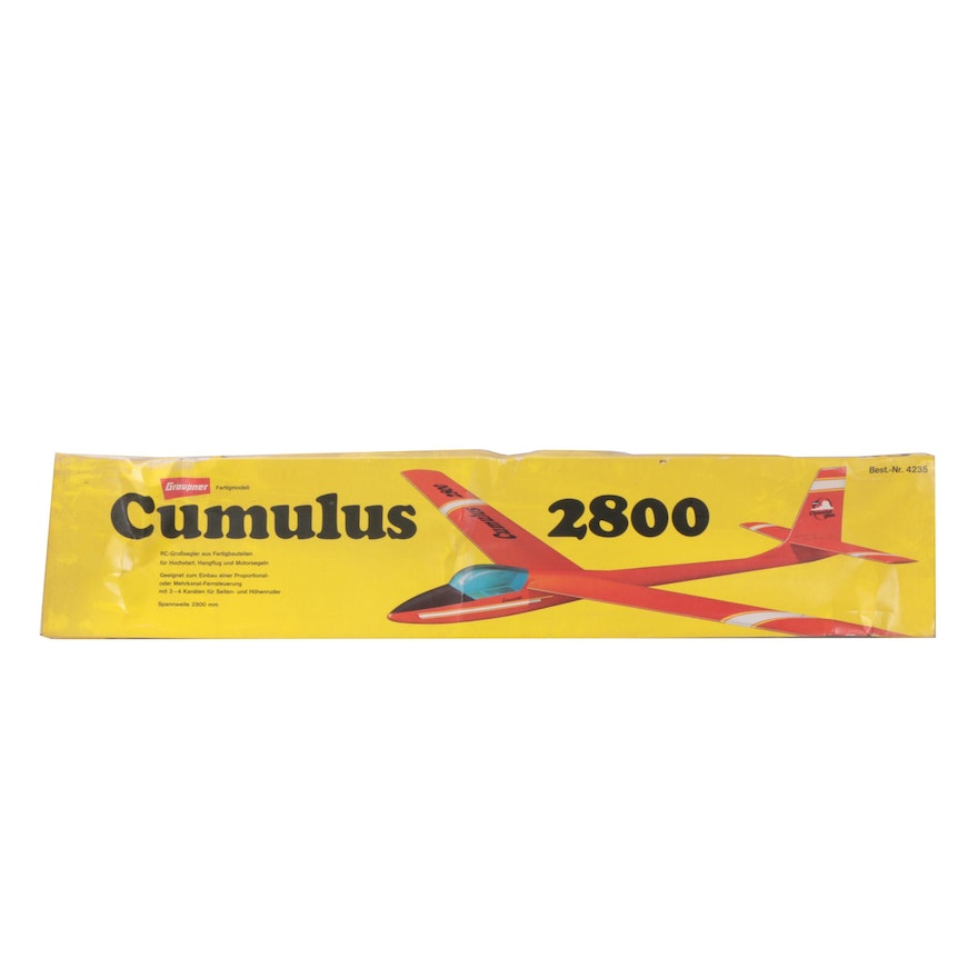 Graupner Cumulus 2800 RC Sailplane Model Kit