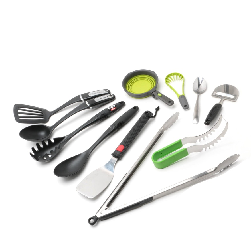 Kitchen Utensils featuring KitchenAid, OXO, and Chef\'n