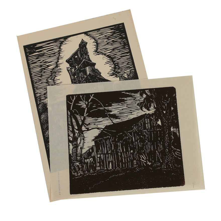 Robert Whitmore Woodblocks