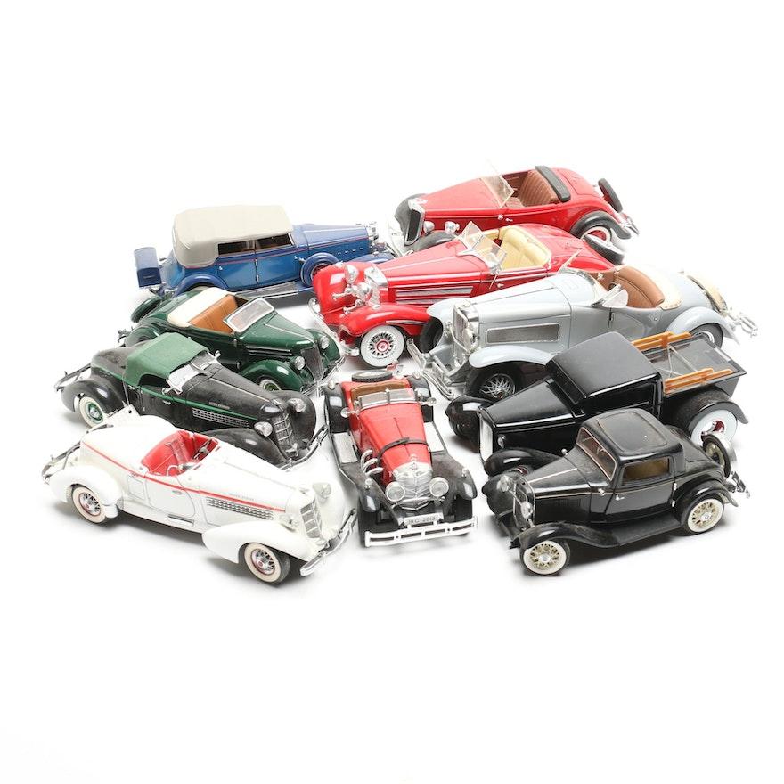 I Scale 1 18 2018 Mercedes Benz Glc Coupe White: 1:18, 1:24 Scale 1930s Era Model Cars