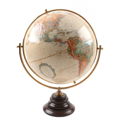 Repogle Globes, Inc. Globe with Wood Stand