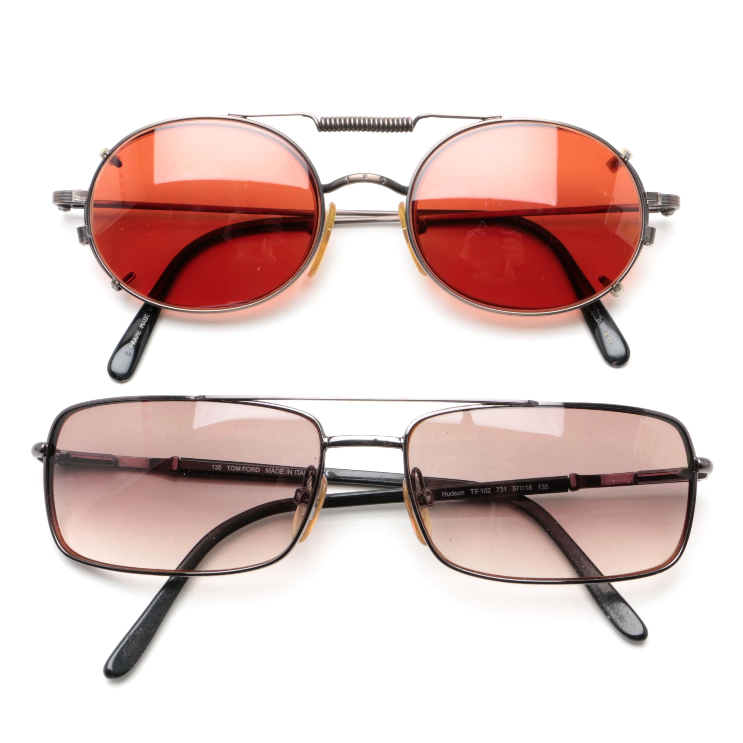 Vintage Tom Ford And Jean Paul Gaultier Eyeglasses