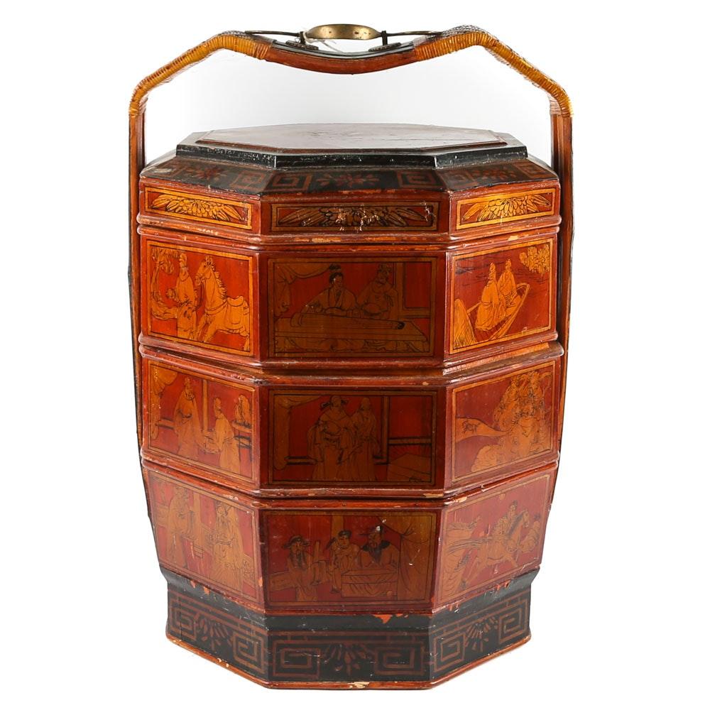 Wenzhou Chinese Large Octagonal Wedding Basket
