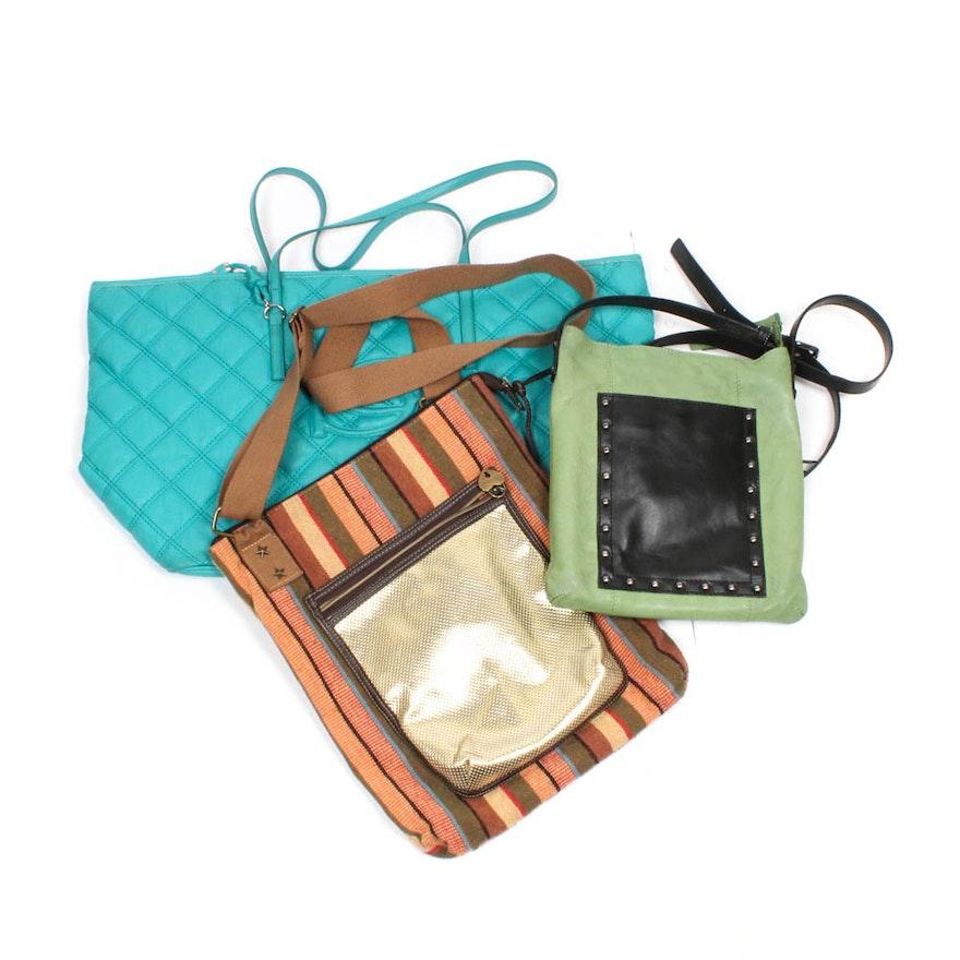 Handbags Featuring American Rag Bebe And Nino Bossi