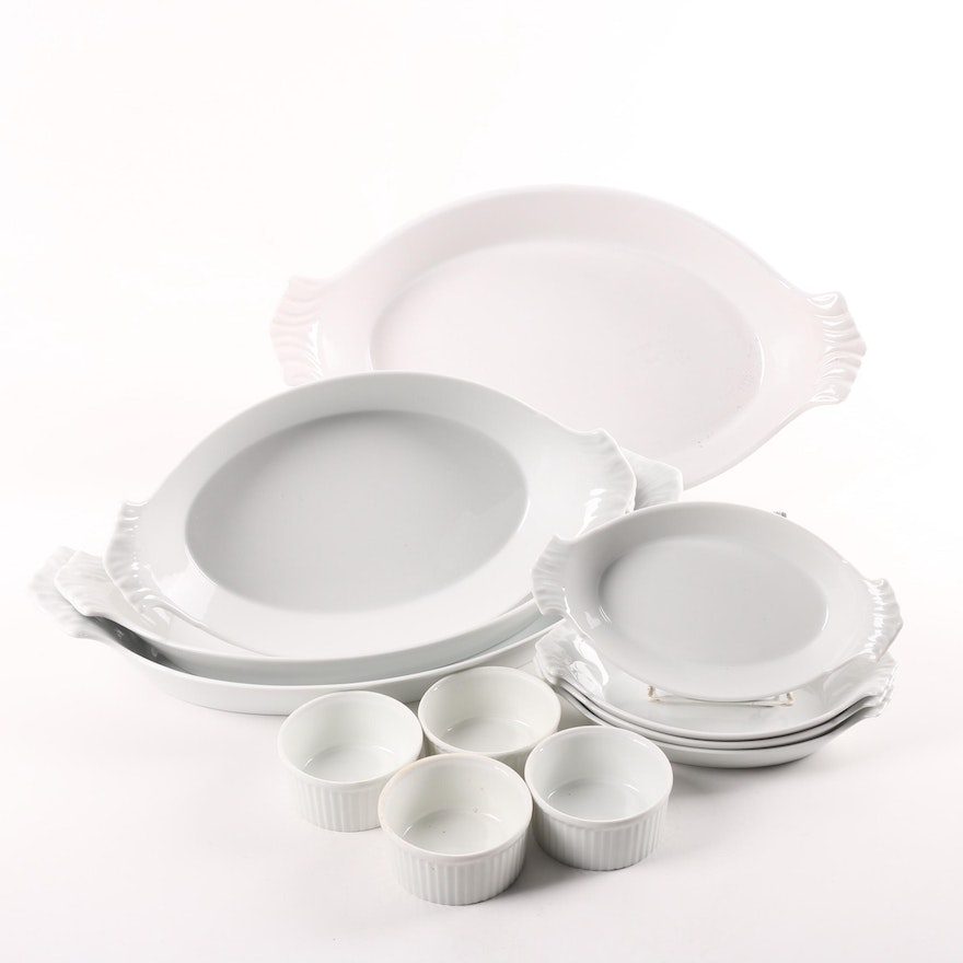 Barbotina And Apilco Portuguese Oven To Table Bakeware Ebth