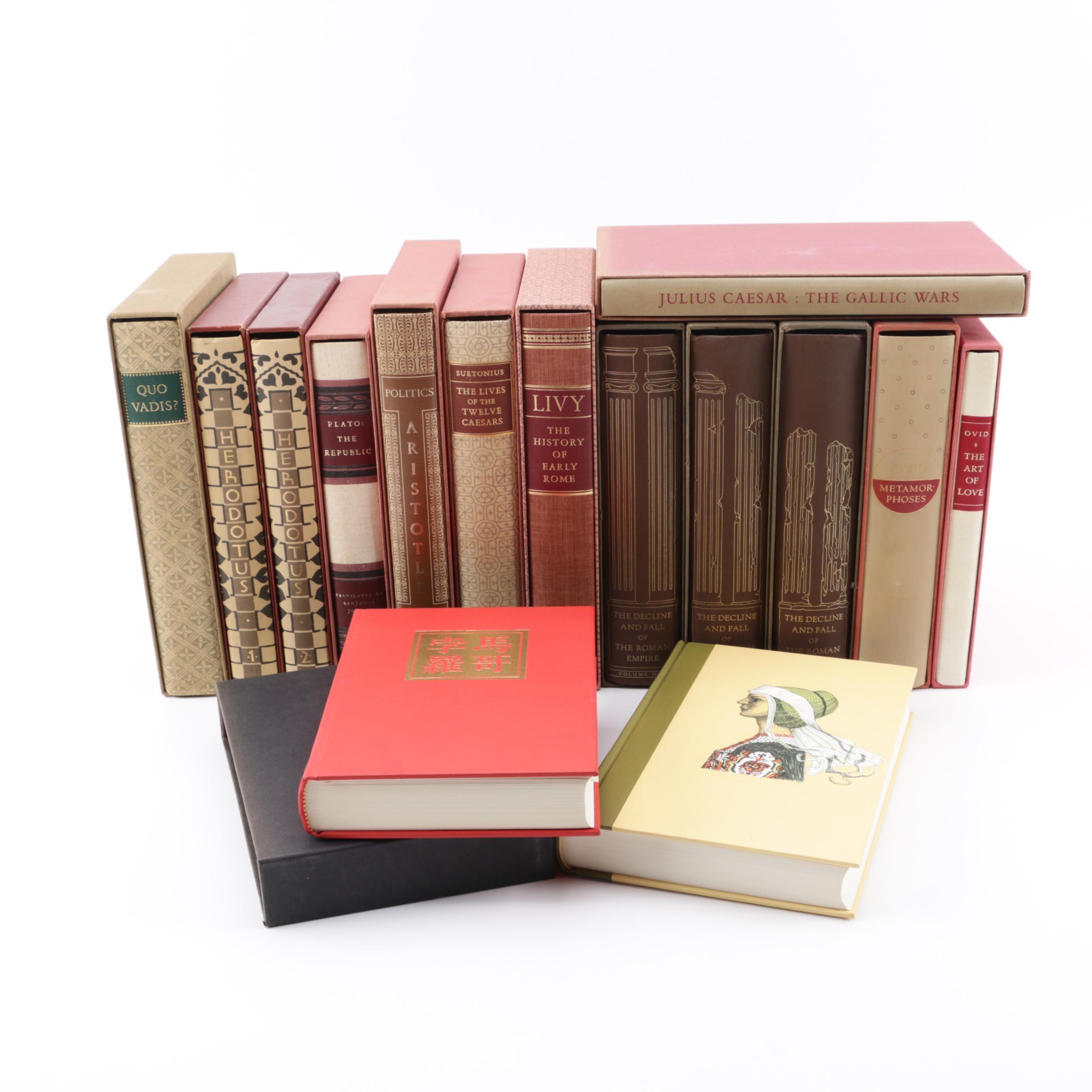 "Vintage Heritage Press Books including Plato's ""The Republic"""