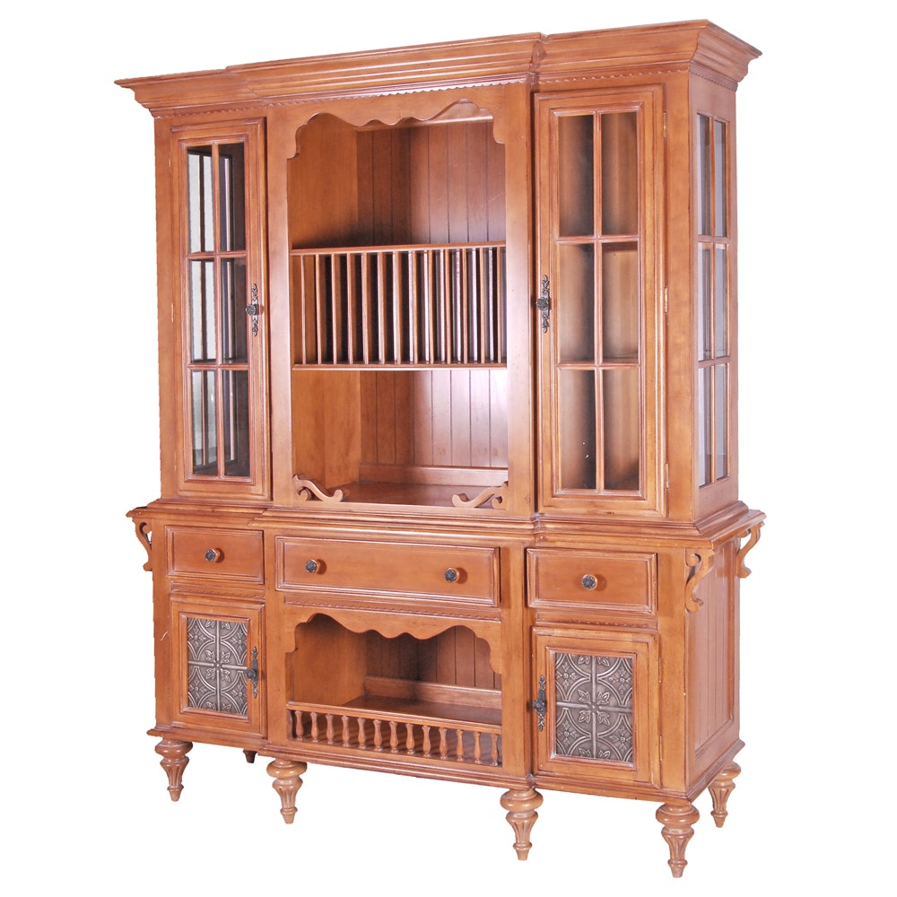 Illuminated China Cabinet