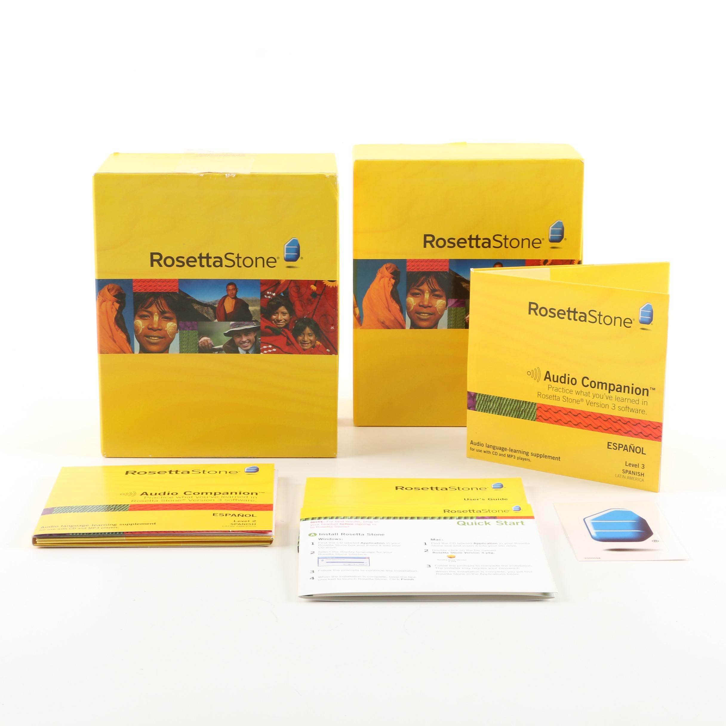 Rosetta Stone Spanish Language Learning Software